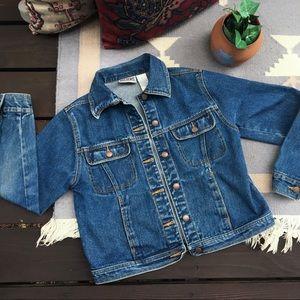 Vintage 90s Button Up Jean Jacket